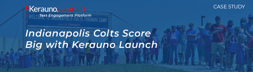 Indianapolis Colts Score Big with Kerauno Launch