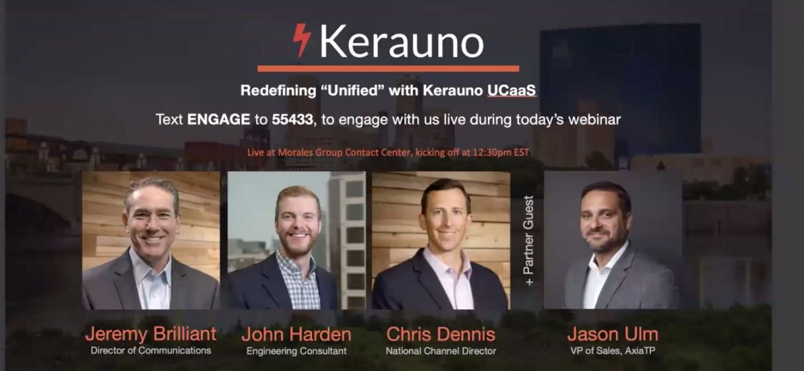 Kerauno UCaaS Redefines Unified for the Morales Group