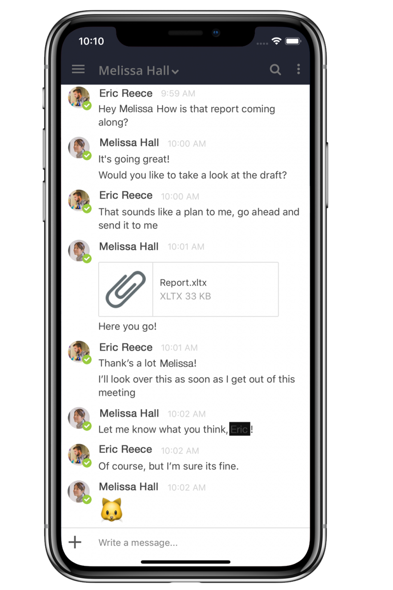 iPhone-Chat+-Messages